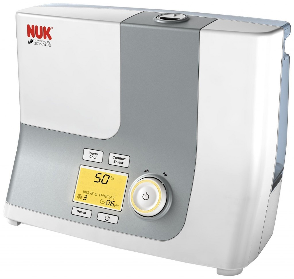 NUK Warm and Cool Mist Ultrasonic Humidifier