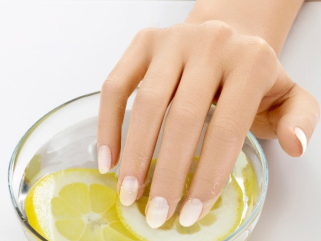 orange oil for healthy nails